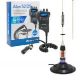 Kit Statie radio CB Midland Alan 52 DS + Antena PNI ML70 cu magnet
