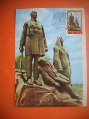 HOPCT MAXIMA 63283 MONUMENTUL MINERILOR -ION IRIMESCU - foto