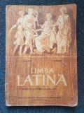 LIMBA LATINA MANUAL PENTRU CLASA A IX-A - Vasilescu, Barbu, Clasa 9