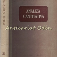 Analiza Cantitativa - E. V. Alexeevski, R. K. Golt, A. P. Musakin