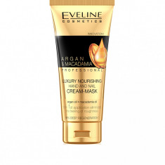 Crema-masca de maini Eveline Cosmetics Argan&Macadamia 100ml
