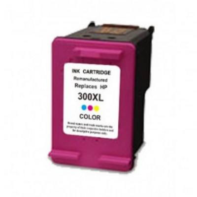 Cartus HP 300XL CC644AE color compatibil foto