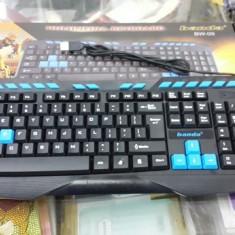 Tastatura Gaming-Banda Usb BW09 Noua Sigilata L230, Cu fir