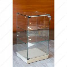Vitrina de sticla calita, 885 x 492 x 446 mm (GVVE046B-AB-BV-J)