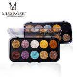Cumpara ieftin Trusa Glitter Diamant Miss Rose 10 culori M1