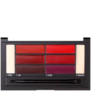 Paleta pentru buze Maybelline New York Color Drama lip contour palette 01 Crimson Vixen