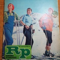 romania pitoreasca decembrie 1980-art. si foto rucar,huedin si olanesti