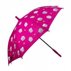 Umbrela pentru fete, automata Pami Cookies 80 cm Siclam