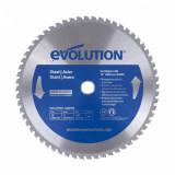 Cumpara ieftin Disc pentru fierastrau circular, taiere otel Evolution EVOM305TCT-60CS, O305 x 25.4 mm, 60 dinti