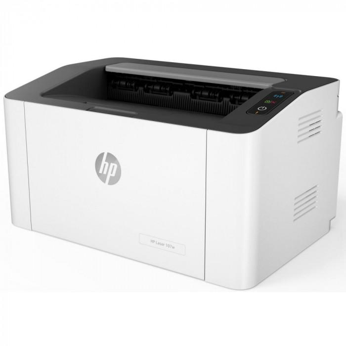 Imprimanta laser mono HP 107w, Wireless, A4
