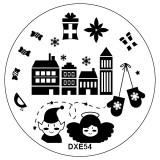 Matrita Unghii DXE54 Orasul Elfilor