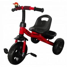 Tricicleta cu pedale R-Sport T1 - Rosu