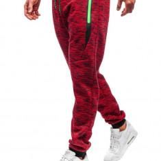 Pantaloni de trening bărbați roșu Bolf 55051