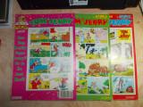 LOT 3 REVISTE BENZI DESENATE * TOM & JERRY , FLEETWAY EDITIONS , 1992