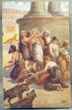AD 261 C. P. VECHE -QUO VADIS ?-CHRISTIANS IN THE CIRCUS OF NERO -PATATA, Franta, Circulata, Printata