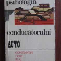 Psihologia conductorului auto