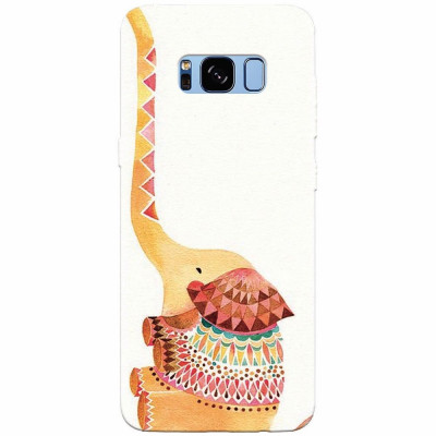 Husa silicon pentru Samsung S8 Plus, Elephant foto