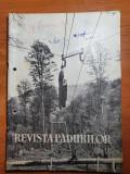 Revista padurilor august 1962-egiunea maramures,lapus,cavnic,viseu,tasnad