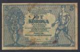 A6907 Hungary Ungaria 5 korona 1919