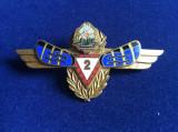 INSIGNA  - SPECIALIST DE CLASA - REPUBLICA SOCIALISTA ROMANIA - RADIOLOCATIE