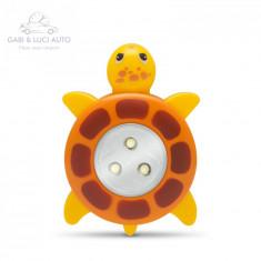 """Lampă de veghe decorativă cu buton, model """"Broasca ţestoasă"""""""
