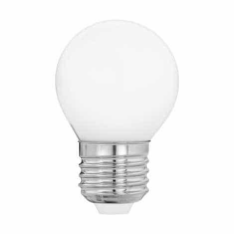 Bec LED 1W, G45,Braytron, fasung E27, alb, lumina rece, 6000K