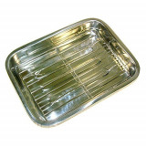 Cumpara ieftin Tava din inox pentru lasagna KingHoff, lungime 41 cm