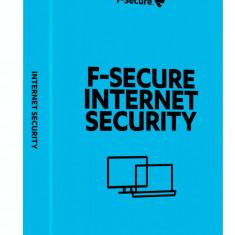 Antivirus F-Secure Internet Security 1 an 3 utilizatori