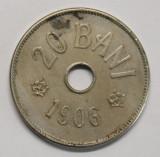 20 BANI 1906 BRUXELLES . MAI RAR . STARE FOARTE BUNA .