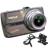 Cumpara ieftin Camera auto DVR iUni Dash 66G, Touchscreen, Display IPS 3.5 inch, Dual Cam, Full HD, WDR, 170 grade, by Anytek