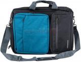 Geanta Laptop Modecom Reno 15.6inch (Neagra-Albastra)
