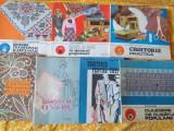 Confectii/ broderie/tricotaje-lot carti