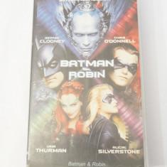 Caseta video VHS originala film tradus Ro - Batman & Robin