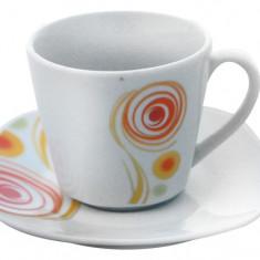 Serviciu cafea din portelan 12 piese, MN012738 Portelan