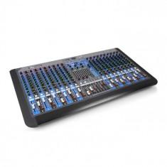 Power Dynamics PDM-S2004, pult de mixaj cu 20 canale, DSP / MP3, port USB, receptor BT