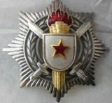 ORDINUL MERITUL MILITAR, YUGOSLAVIA, ARGINT, CLASA A III-A, 67 GR, 900/1000.