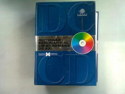 DICTIONAR EXPLICATIV AL LIMBII ROMANE DE AZI - ELENA COMSULEA (CU CD) foto