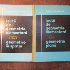 GEOMETRIE IN SPATIU-JACQUES HADAMARD , 2 VOLUME