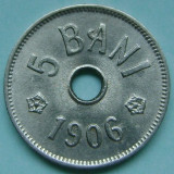 ROMANIA, 5 BANI 1906 J_UNC * cod 122