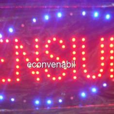 Reclama Luminoasa cu LED 50x25cm Pensiune
