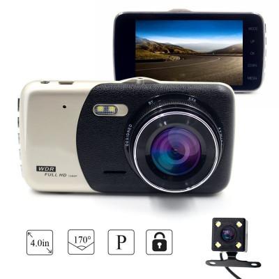Camera Video Auto Dubla Novatek T810 FullHD Cu Functia WDR Si Ecran IPS foto