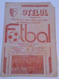 Program meci fotbal OTELUL GALATI - OLIMPIA RAMNICU SARAT (09.06.1985)
