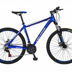 Bicicleta MTB HT 26 FIVE Moon cadru aluminiu culoare albastru alb