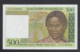 A401 Madagascar 500 francs 1994 UNC