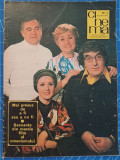 Cinema nr 3 din 1977 - Numar Special cutremur 4 martie reportaje - Toma Caragiu