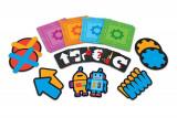 Joc de logica STEM Super labirintul, 20 de piese tip covoras, 20 de carduri, 5 - 9 ani, Learning Resources