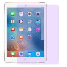 Folie de sticla securizata, iPad 9.7 (2018) / (2017) / Pro 9.7 / Air 2, transparenta, variatie culori blue ray, antisocuri