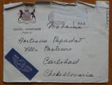 Scrisoare par - avion din Paris catre Hortensia Papadat Bengescu , 1938