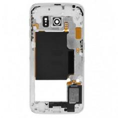 Carcasa mijloc Samsung Galaxy S6 edge G925 Alb Original