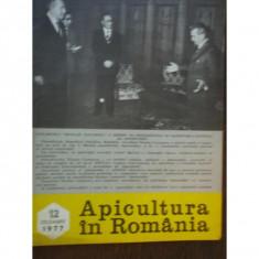 REVISTA APICULTURA IN ROMANIA NR.12/1977